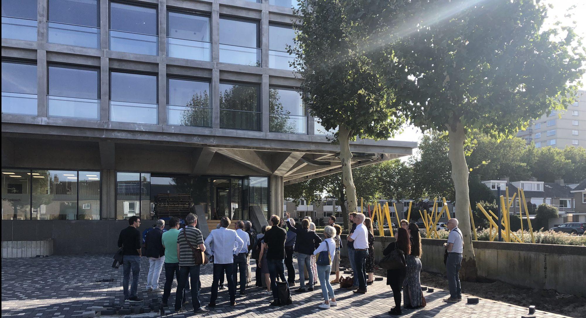 Bosch Architectuur Initiatief bezoekt project Schubertsingel