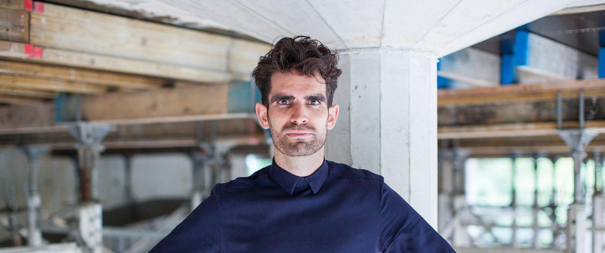 Architect Frank Loer geeft een lezing tijdens Nieuwbouwbeurs XL