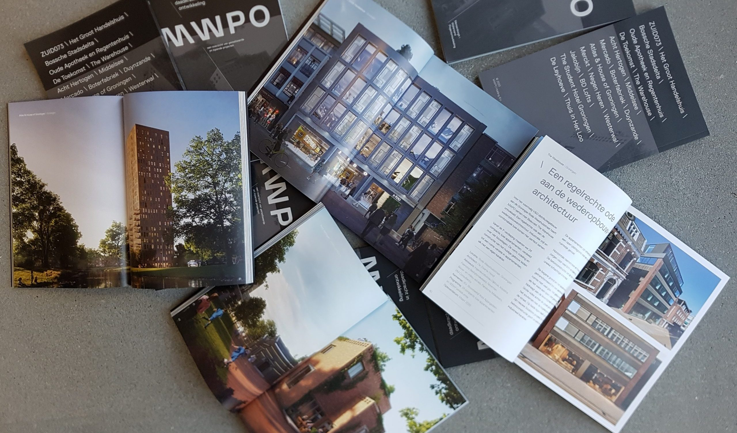 Nieuwe projectbrochures MWPO